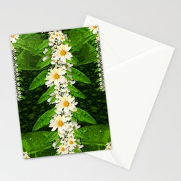deep in the rainforest of leaves is rare liana flowers Stationery Cards