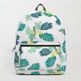Breadfruit 'Ulu Pattern Backpack
