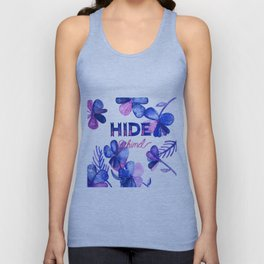 Hide Behind Unisex Tank Top