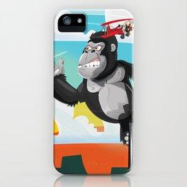 King Kong Poster iPhone Case