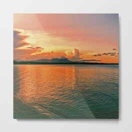 Pure Sunset Metal Print