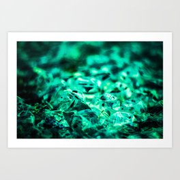 Bubble 5 Art Print