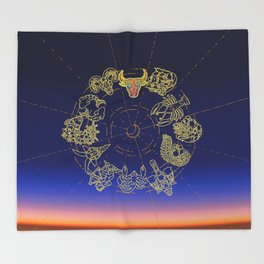 Taurus Throw Blanket