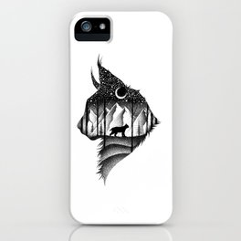 THE LYNX & THE MOON iPhone Case