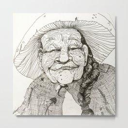 Grandmother Nature Metal Print