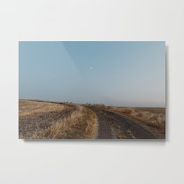 Summertime Road Metal Print