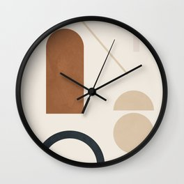 Geometric Modern Art 32 Wall Clock