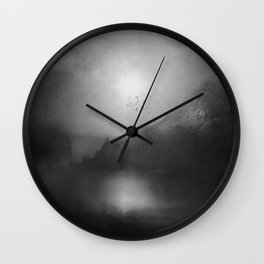 Black and White - Poesia Wall Clock