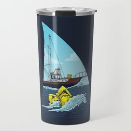 Jaws: The Orca Travel Mug
