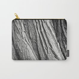 Wood and Bark pattern Carry-All Pouch