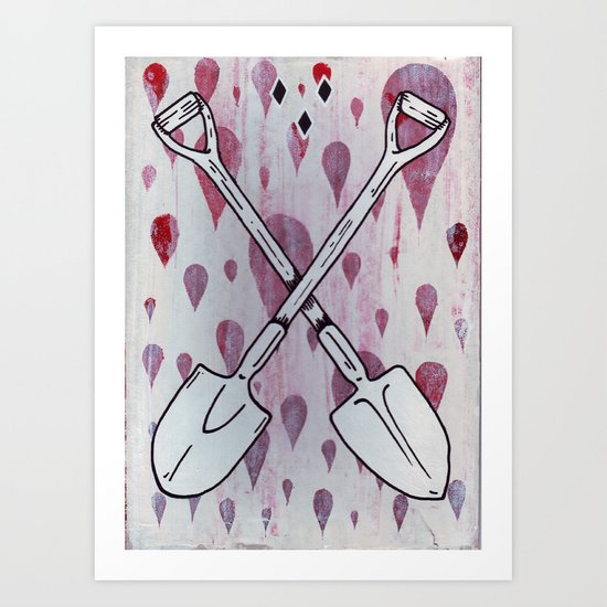 Team of two. Art Print