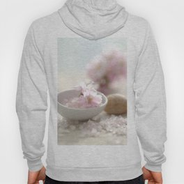 Still life for Bathroom with almond blossoms Hoody