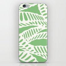 Al Peas: Ivory on Sage/Green iPhone & iPod Skin
