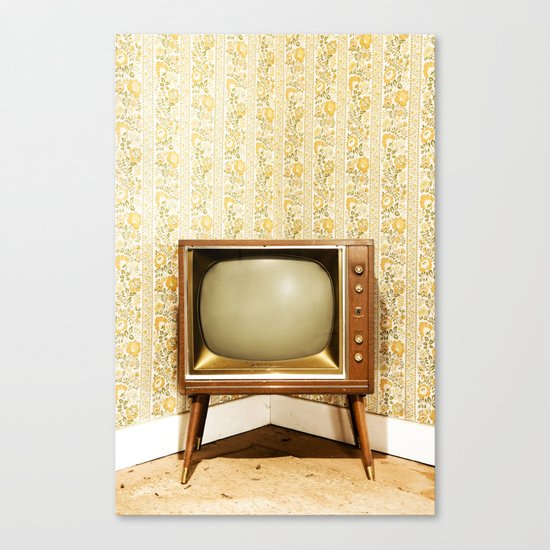 Vintage Viewing Canvas Print