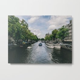 amsterdam canels Metal Print