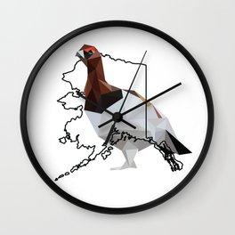 Alaska – Willow Ptarmigan Wall Clock