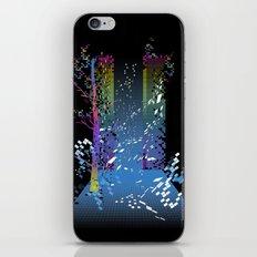 grid escape iPhone & iPod Skin
