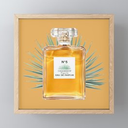strong perfume Framed Mini Art Print