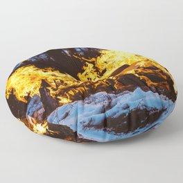 Set on Fire Floor Pillow