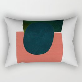 minimalist collage 05 Rectangular Pillow