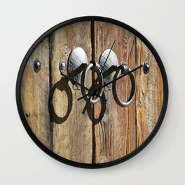Ring Four Times Wall Clock