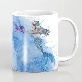 A mermaid and her friend Coffee Mug