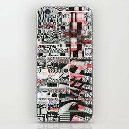 Click-N-Fail (P/D3 Glitch Collage Studies) iPhone Skin