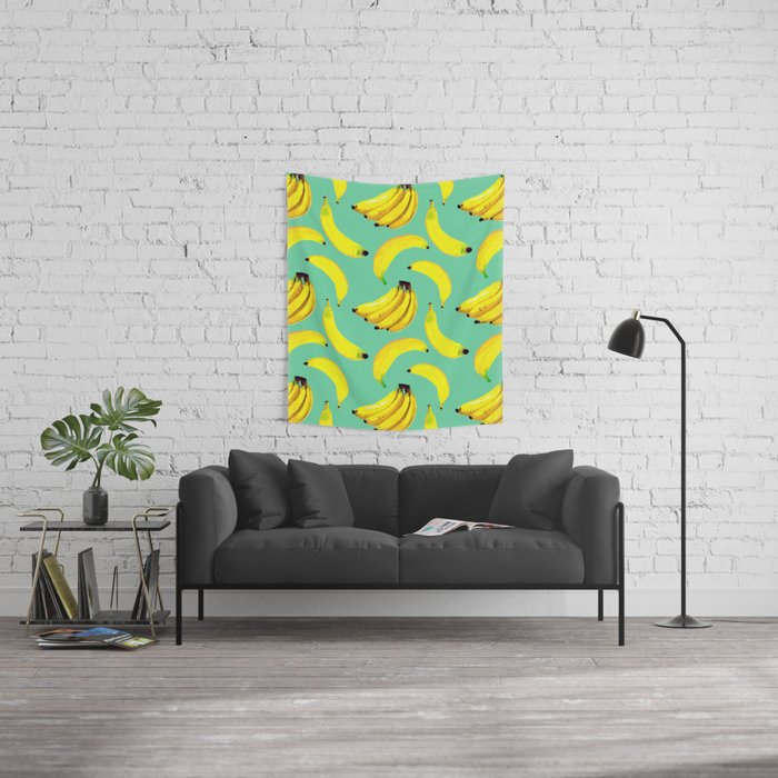 Banana Wall Tapestry