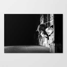Zeke - Front Nose  Canvas Print