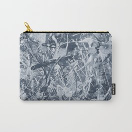 Abstract black painting Carry-All Pouch