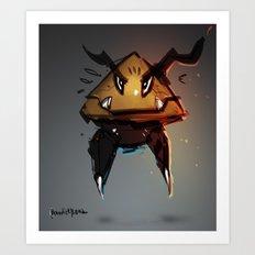 Goomba Evolution Fanart Art Print