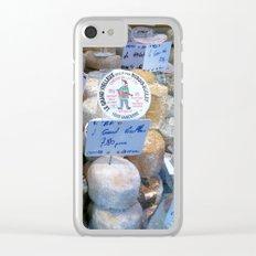 Cheese Market Paris Clear iPhone Case