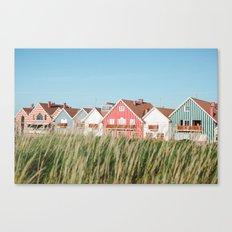 Stripes Row Canvas Print