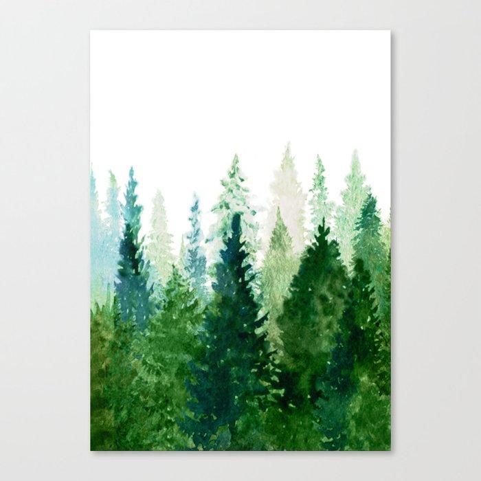 Pine Trees 2 Leinwanddruck