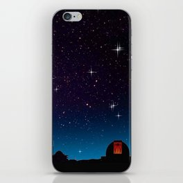 Where do we look for us. iPhone Skin