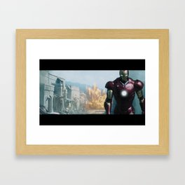 Iron Man: Gulmira II Framed Art Print