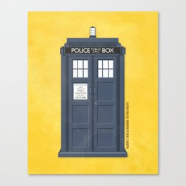 9th Doctor - DOCTOR WHO Canvas Print