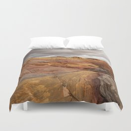 Canyon Overlook - Valley_of_Fire_State_Park, Nevada Duvet Cover