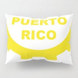 Hecho En Puerto Rico Pillow Sham