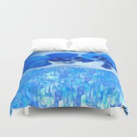 orchid Duvet Covers featuring Orchid by Saundra Myles