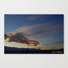 The Amazing Sky Canvas Print