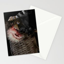 The Swamp Fish Witch Stationery Cards