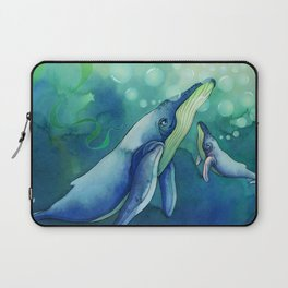 Mama & Baby Whale Laptop Sleeve