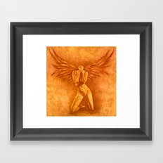 Angel Rising Framed Art Print