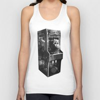 donkey kong Tank Tops featuring DONKEY KONG ARCADE MACHINE by UNDEAD MISTER / MRCLV