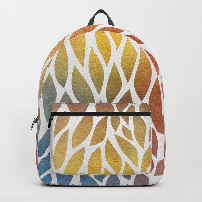 Petals Pattern #4 Backpack
