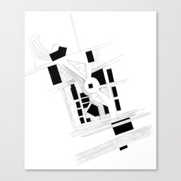 Master Plan Canvas Print
