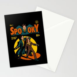 Spooky Comic Stationery Cards