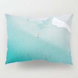 Leighton Beach Aerial Pillow Sham