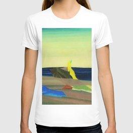 Sunbathers on the Beach by Lyonel Feininger T-shirt